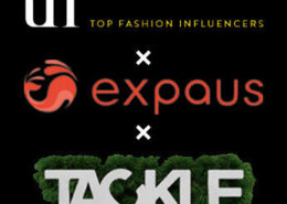 Top Fashion InfluencersとTACKLEとexpausがコラボ