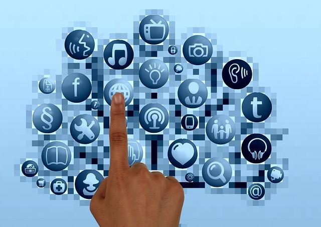 finger on world wide web