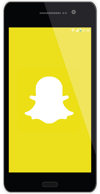 snapchat display screen